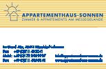 Appartementhaus Sonnen